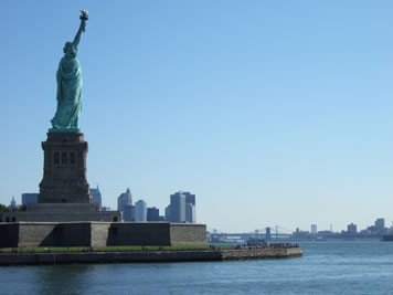 liberty and manhattan
