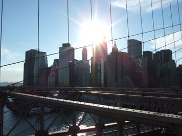 manhattan from brooklyn bridge