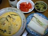 カレーと牛乳のスープ
