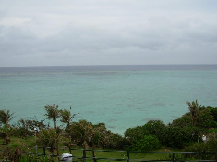 ホテルテラスからの風景
