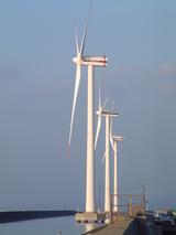 つらなる風車