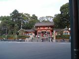 重要文化財の八坂神社