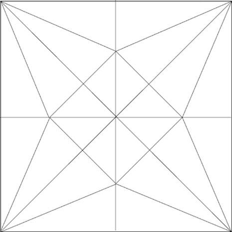 鶴の展開図