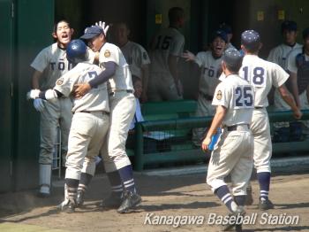 桐蔭学園vs慶應義塾_012