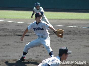 05秋 準々決勝 横浜vs久里浜