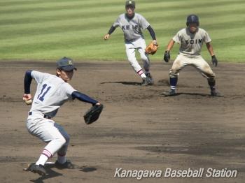 桐蔭学園vs慶應義塾_011