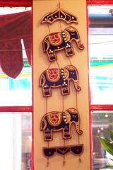 インド象たち。