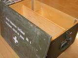 スイスのミリタリートランク(木箱)③