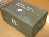 スイスのミリタリートランク(木箱)①