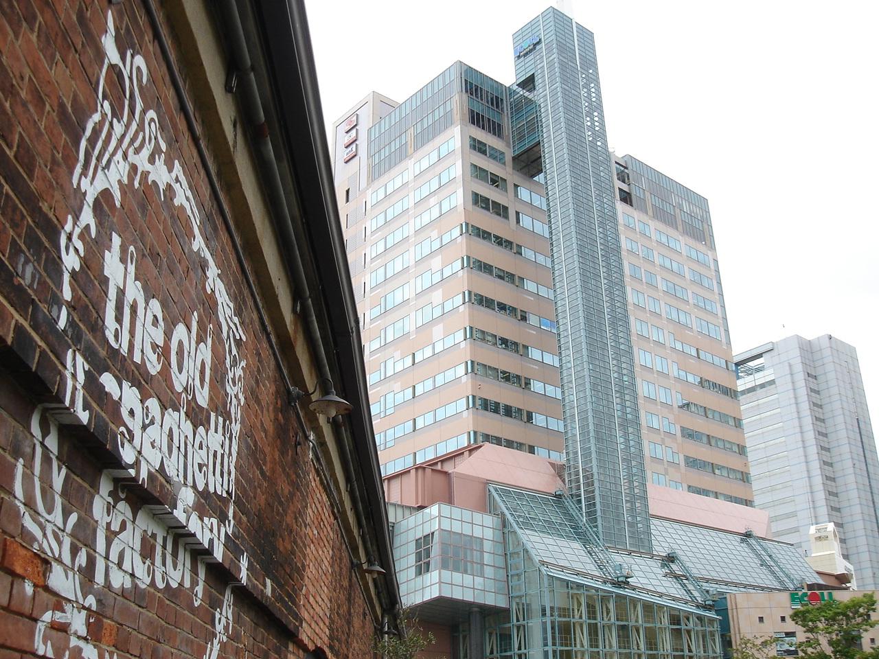 20060719神戸6レンガ倉庫とビル群27
