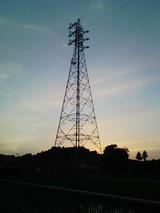真夏日の夕風
