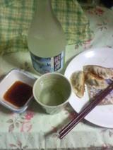 焼酎&餃子