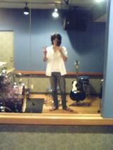 スタジオにて