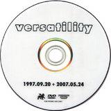 VERSATILITY DVD