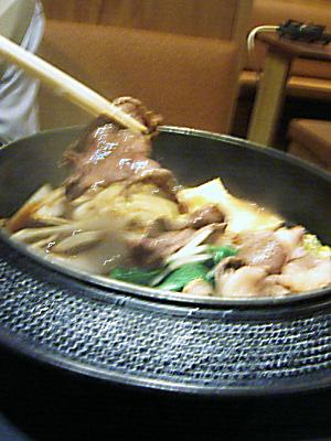 20051225-スキヤキ1