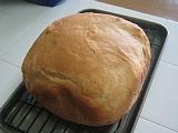 半斤のパン焼き上がり