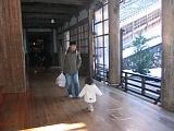 永平寺の廊下