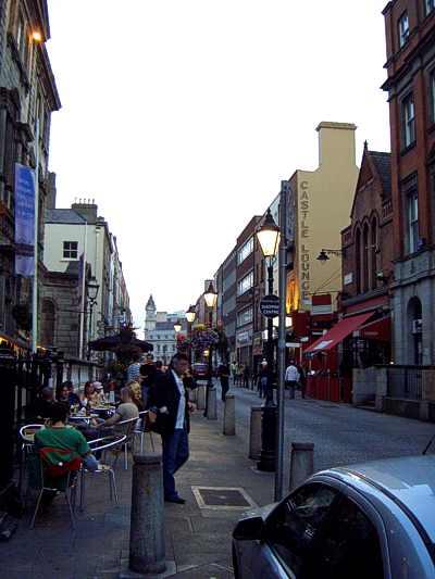 ダブリン-街並み