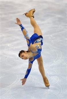 安藤美姫 スケートアメリカ優勝...