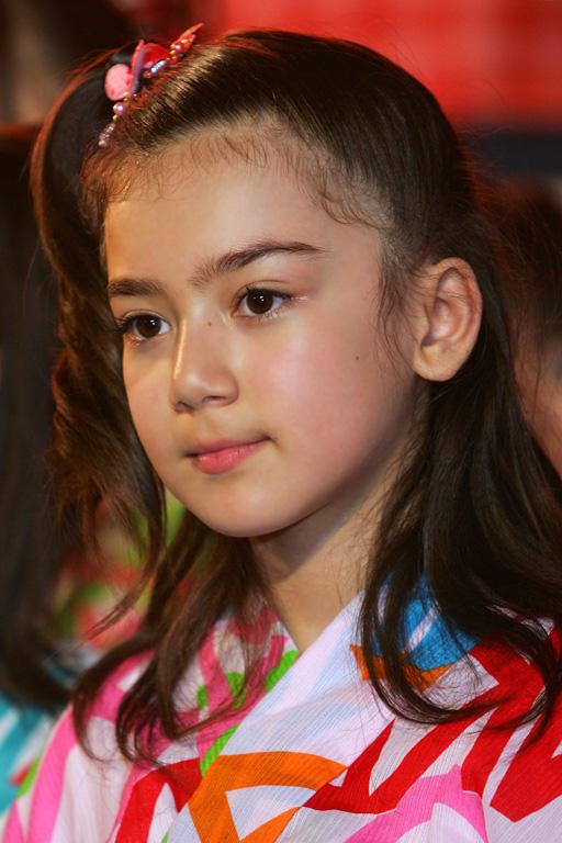 幼い頃の奥真奈美がかわいい