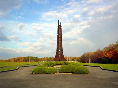 北海道百年記念塔1