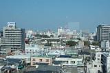 会場から市街地を眺める