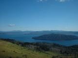 美幌峠から見た屈斜路湖