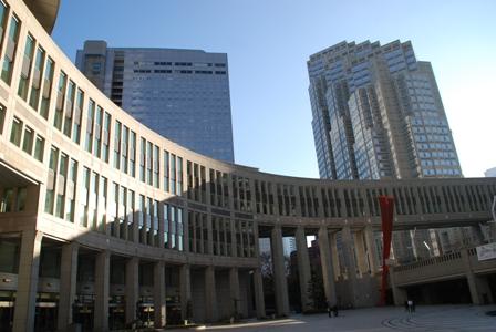 都庁オブジェ