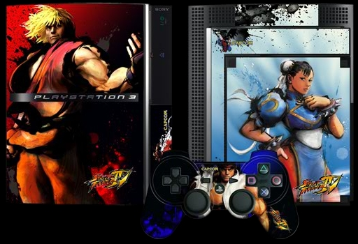 ps3 faceplate SF4 ケン