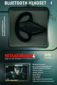 ps3 MGS4 headset