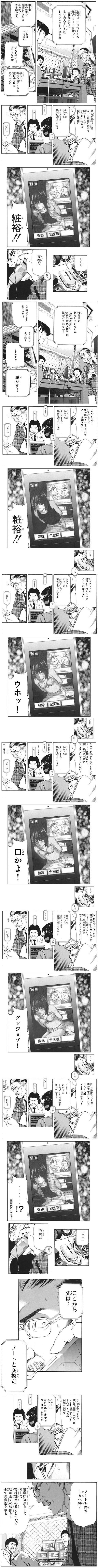 殿堂入り漫画:デスノート -エロ親父と誘拐犯- [エロ]