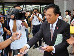 ネクタイの巻き方 ネクタイの結び方 ネクタイの締め方 田中康夫