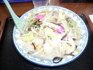 伊万里ちゃんぽん標準600円