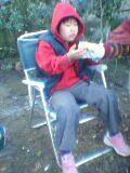 焼き芋と姪っ子小三