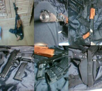 AK47S改とベレッタ