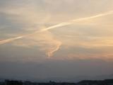 地震雲なり