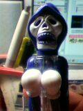 紫頭巾の髑髏