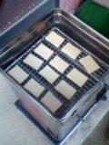 スモーカーにチーズを配置