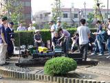 行徳駅前公園NHK中継3