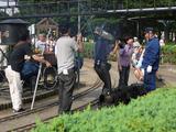 行徳駅前公園NHK中継2