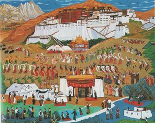 ラサ チベット