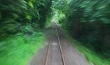 水沼(わたらせ渓谷鉄道の車窓 緑の休憩)