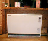 経済的で心地よい蓄熱暖房器