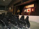 卒業式の様子(卒業証書授与中)