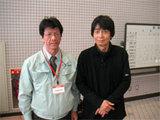 最後に小林大作さんとツーショット