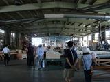 プレカット工場の見学