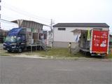 外壁材・サンウェーブの移動展示車