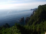 第一展望台からの北山崎の景観