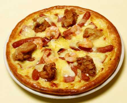 カクテルチキンピザ