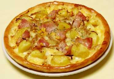 ハッピーポテトピザ
